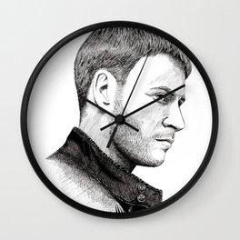 Max Riemelt Wall Clock