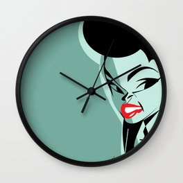 Janelle Monáe Wall Clock