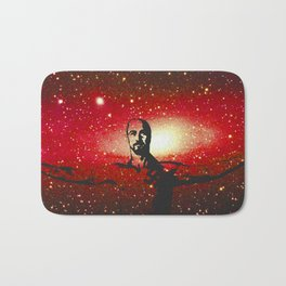 Life's too short to be pissed off all the time Bath Mat