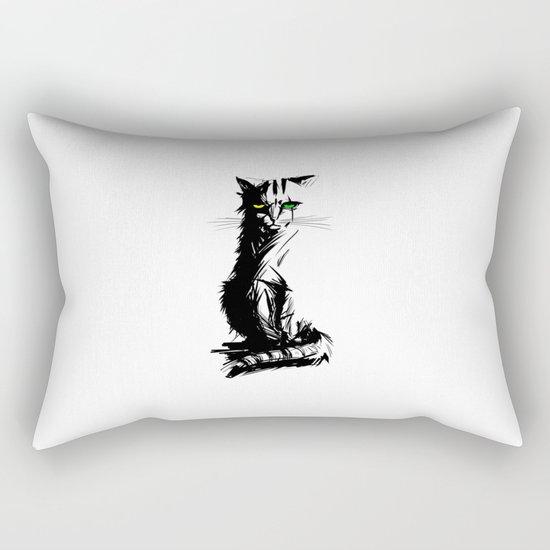 Mad Meow Rectangular Pillow