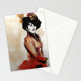 Irene Adler in Watercolor Stationery Cards