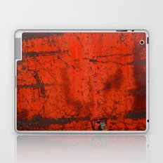 Red Roof Hatch Laptop & iPad Skin