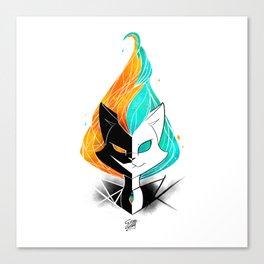 Nightmare/ScribbleNetty (Galaxy) Canvas Print