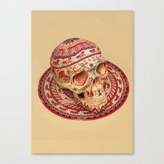 Mezen Skull Canvas Print