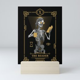 The Reader X Tarot Card Mini Art Print