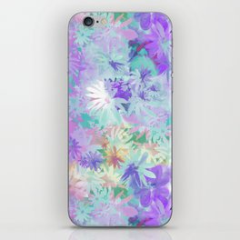 A bed of flowers. iPhone Skin