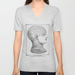 Phrenology2 Unisex V-Neck