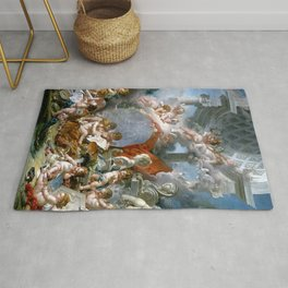 Geniuses of the Arts - Francois Boucher Rug