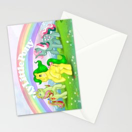 g1 my little pony Mimic, Fizzy and Magic Star Stationery Cards