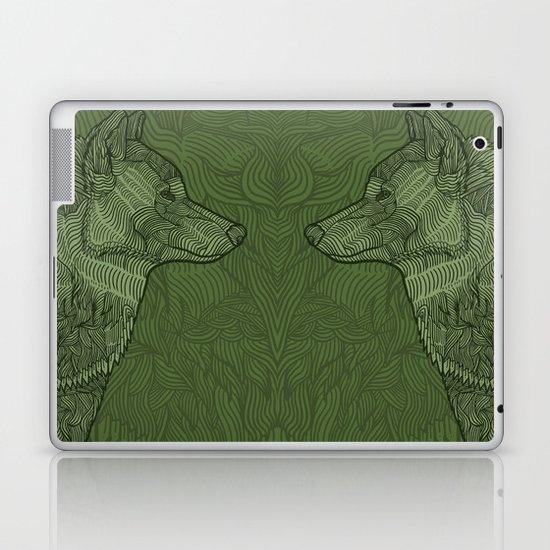 Enthusiastic Wolf Laptop & iPad Skin