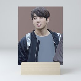 Jungkook Digital Art Mini Art Print