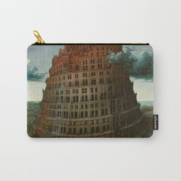 The Tower of Babel by Pieter Bruegel the Elder Carry-All Pouch