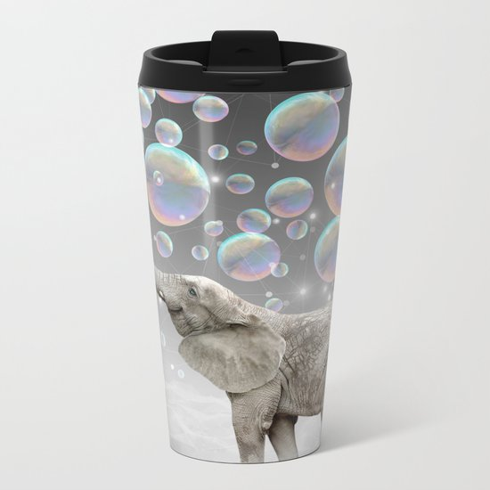 The Simple Things Are the Most Extraordinary (Elephant-Size Dreams) Metal Travel Mug