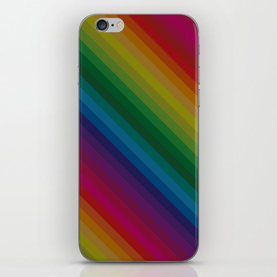 Sophisticated Rainbow iPhone Skin