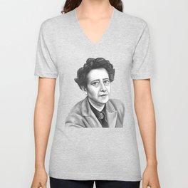 Hannah Arendt Unisex V-Neck