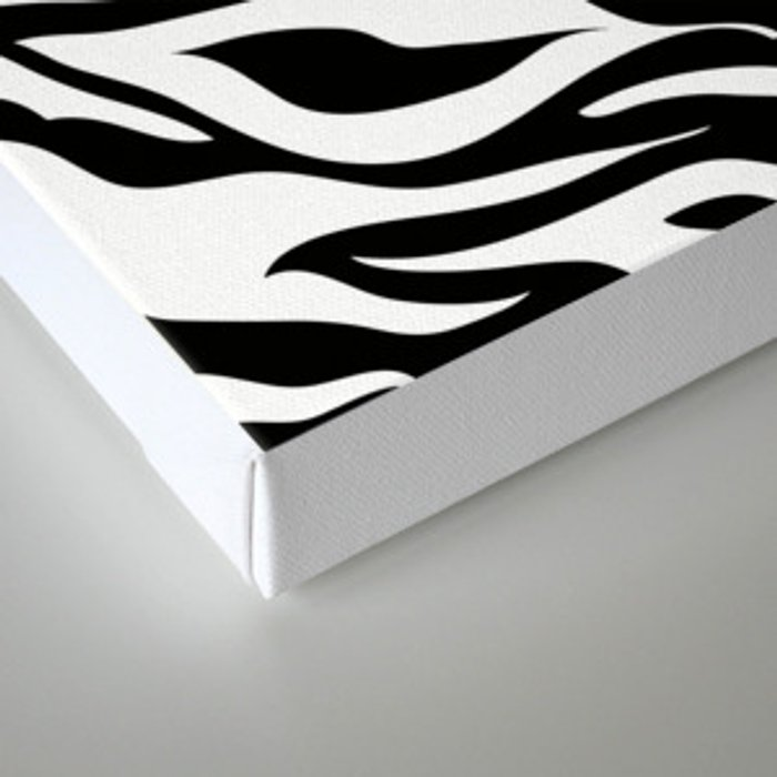 Modern Safari Animal Print Black And White Zebra Stripes