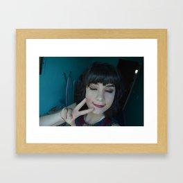 Peace Saskia Wrycroft Framed Art Print