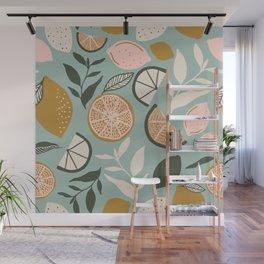 Indy Bloom Design Lemon Lime Wall Mural