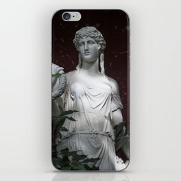 Ancient statue. iPhone Skin