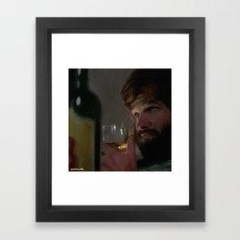 CHEATING BITCH Framed Art Print