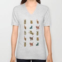 Kitty Kitty Unisex V-Neck