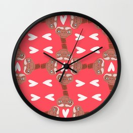 phone home Wall Clock