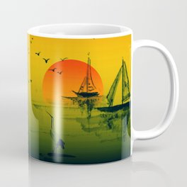 Oriental Sunset Coffee Mug