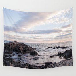 Maine Sunset Wall Tapestry