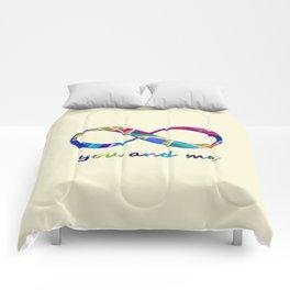 You and Me Infinity Comforters