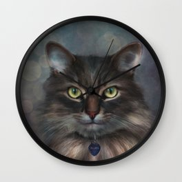 Blues - Cat Wall Clock