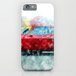 Alfa Giulia Racing iPhone Case