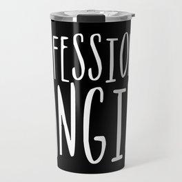 Professional fangirl inverted Travel Mug