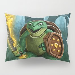Turtle Paladin Pillow Sham