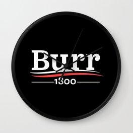 burr Wall Clock