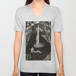 Garden, Engraving From Song of Solomon by Cecil Buller Unisex V-Neck