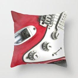 Strat Throw Pillow
