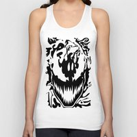 carnage Tank Tops featuring carnage by Rebecca McGoran