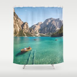 Mountain Adventures Shower Curtain