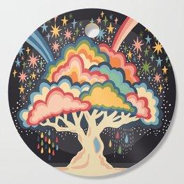 Rainbow tree Cutting Board