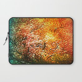 Windblown Cherry Blossom Laptop Sleeve
