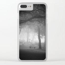 Foggy Daze Clear iPhone Case