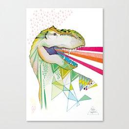 Dinosaur / August Canvas Print