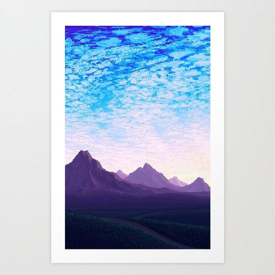 Mountainz Art Print