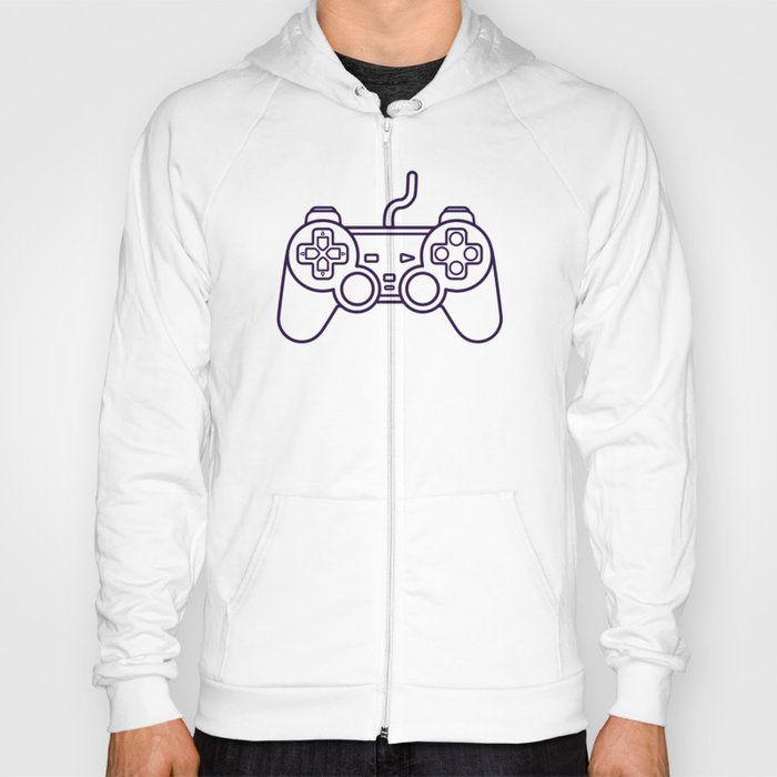 Playstation 1 Controller - Retro Style! Hoody