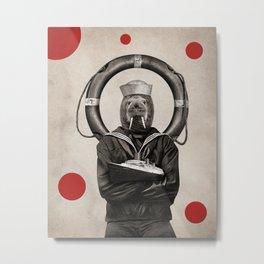 Anthropomorphic N°16 Metal Print