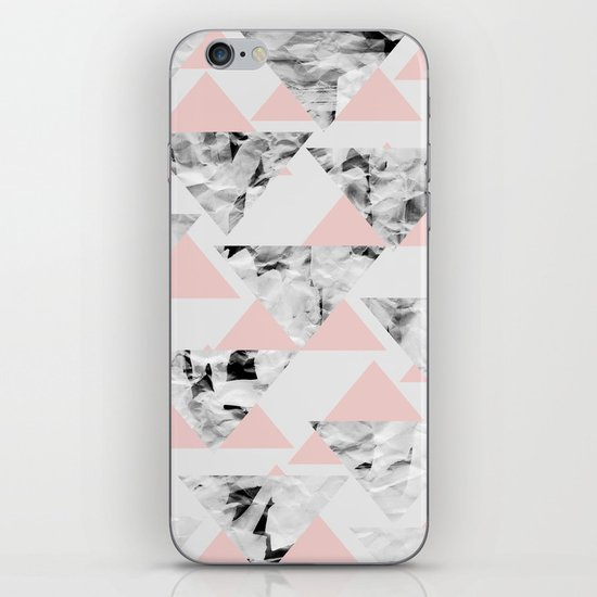 Pink Triangles iPhone & iPod Skin
