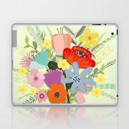 Bringing Summer Wildflowers Inside Laptop & iPad Skin
