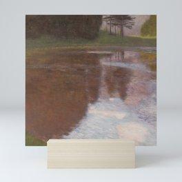 Gustav Klimt - Tranquil Pond Mini Art Print