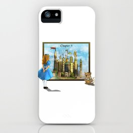 Chapter Nine : The Wurtherington Diary iPhone Case