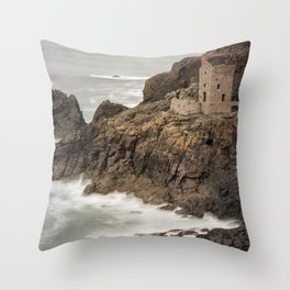 Poldark Country Throw Pillow